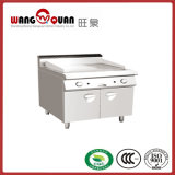 Restaurant Stainless Steel Gas Griddle with Oven