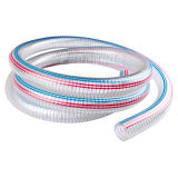 Glass-Like Clear PVC Steel Wire Reinforced Pipe