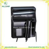 Hotel Bathroom Wall Mounted Hair Dryer Black Colour