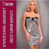 Stylish Silver Shine Nice Club Dresses 2012 (L2408-1)