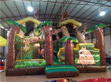 Forest Theme Bouncer Inflatable Dry Slide for Event