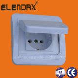 European Style Flush Mounted Cover Wall Schuko Socket (F2510)