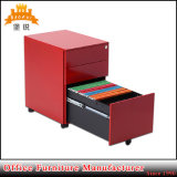 as-038 Metal Three Drawers Mobile Cabinet for Office Use