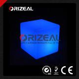 Mobile Glow Illuminated LED Cube Bar Stool (OZ-LF-2001)
