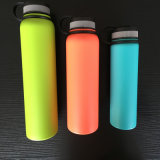 Wide Mouth Stainless Steel Insulated Vacuum Flask with Finger Holder (SH-ST23)