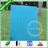 High Quality Twin-Wall Hollow Polycarbonate Plastic Sheet with UV Protection