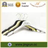 Gold Plating Plastic Clothes Hanger (JR602)