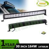 30inch 164W CREE Curved Hybrid Row LED Work Light Bar