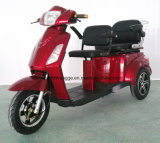 Three Passager Travel Green E-Tricycle