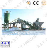 Trail Type Mobile Concrete Batching Plant with High Quality