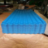 Blue Color Coated Galvanized Corrugated Steel Roof Sheets
