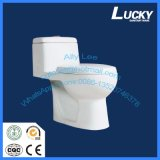 Popular Style with Watermark Saso Ce Certificate and Washdown One-Piece Ceramic Toilet