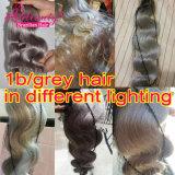 Brazilian Ombre Hair Body Wave Hair Extension1b/Grey