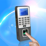 Network Based Fingerprint Access Control System with RFID Reader