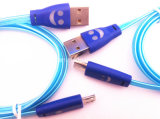 Micro USB Data Cable USB Smile Cable for Mobile Phone