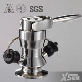 Stainless Steel Aseptic Sanitary Ss304 Ss316L Sample Cock Valve