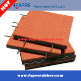 Qingdao Interlocking Outdoor Recycled Rubber Bricks for Construction