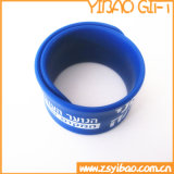 Whole Sale Slap Silicone Band with Custom Text (YB-SW-60)