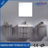 New Design Melamine Bathroom Vanity with Side Cabinet