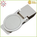 Custom Design Metal and Leather Money Clip
