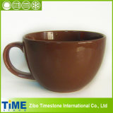 Stoneware Color Glazed Soup Mugs (CM612064)