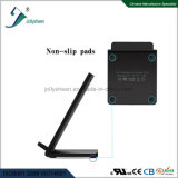 High Efficiency Dual Coils Fast Wireless Charger with Black Housing