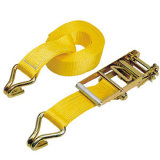 Polyester Ratchet Tie Down Strap Cargo Lashing