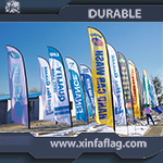 Cheap Price Advertising Feather Flag for Promotion