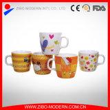 Custom Ceramic Gift Mug with Cartoon Design Printing for Kids (GP1012)