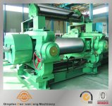 Rubber Open Two Rolls Mixing Mills