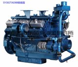 6 Cylinder Diesel Engine. Shanghai Dongfeng Diesel Engine for Generator Set. 121kw