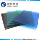 100% Bayer Polycarbonate Hollow PC Sheet with 50um UV Protection