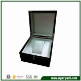 Luxury High Glossy Black Wooden Watch Box