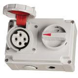 IP67 Industrial Interlocked Receptacle Switch
