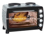 Electric Convection Toaster Oven with BBQ and Rotisserie, 45L Capacity