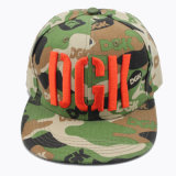 Cheap Bright Camo Snapback Cap with 3D Embroidery (GKA15-F00011)