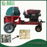 Farm Use Diesel Mobile Wood Shaving Machine for Chicken Bedding