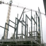 Steel Structure Construction Workshop Factory Building with Best Design