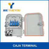 Anti-Agua IP65 Exterior 8 Fibras Caja De Terminacion Optica Con Splitter