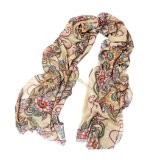 Classical Fashion National Wind Voile Scarf
