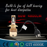 2017 Newest Design Car LED Headlight with Hight Quality of Gti H4 Hi/Lo LED Headlight and Other Available of Auto Light