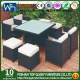 Garden Outdoor Furniture Diner Table Sets with Ottaman Tglu-09