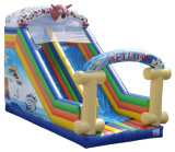 Animal Theme Standard Slide Bouncy Slide Inflatable Slide