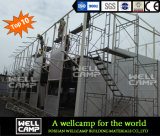 Wellcamp Construction Ready Made Economic Prefab Light Steel Structure House