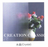 3mm - 6mm Clear Crystal Glass, Crystal Figured / Patterned Glass