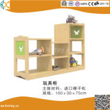 Wooden Children Shelf for Preschool Toys Cabinet