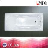 K-1112 Cheap Small Corner Bathtub, Simple Pure Acrylic Drop-in Bathtub, Variety Bathtub for Hotel Project