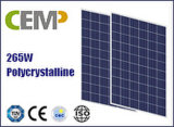 Manufactured Strictly Cemp 265W Solar Panel Applied Widely for off & on Grid PV Plant