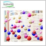High Quality Christmas Assorted Plastic Hanging Ball