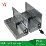 Catch and Release Rodent Control Box Multi Catch Rat Trap